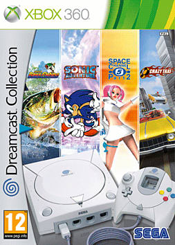 Dreamcast Collection Xbox 360 Cover Art