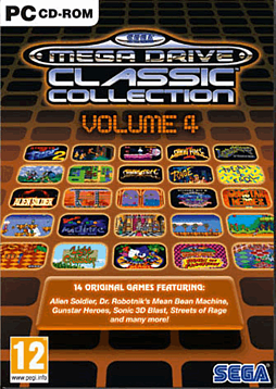Sega Mega Drive Collection Volume 4 PC Games and Downloads Cover Art
