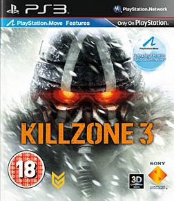 Killzone 3 PlayStation 3 Cover Art