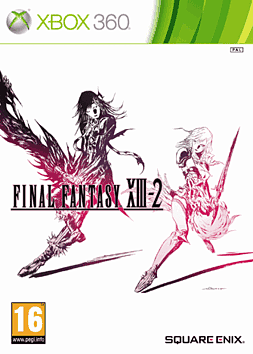 Final Fantasy XIII-2 Xbox 360 Cover Art