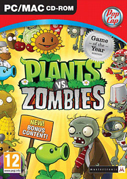 Plants Vs Zombies Game of the Year PC Cover Art