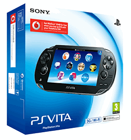 PlayStation Vita - Wifi or 3G at GAME
