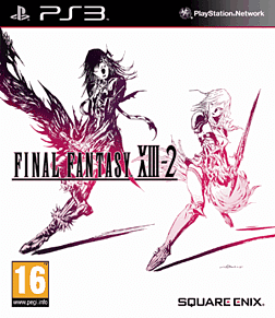 Final Fantasy XIII-2 Playstation 3 Cover Art