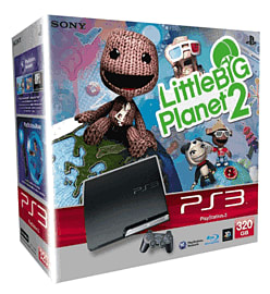 Sony PlayStation 3 320GB Slim with LittleBigPlanet 2 Playstation 3
