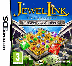 Jewel Link Chronicles: Legend of Athena DSi and DS Lite Cover Art