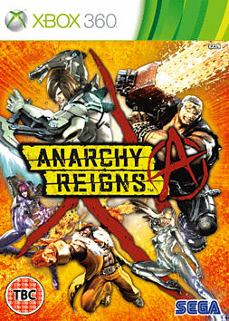 Anarchy Reigns Xbox 360 Cover Art