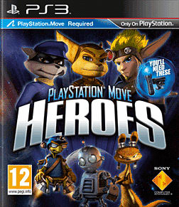 PlayStation Move Heroes PS3 Cover Art