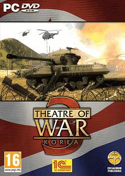 Theatre of War 3 Korea PC Games Cover Art