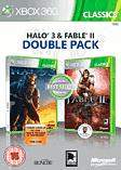 Fable II and Halo 3 double pack Xbox 360
