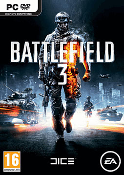 Battlefield 3 PC Games Cover Art