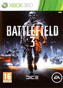 Battlefield 3 Xbox 360 Cover Art