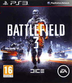 Battlefield 3 PlayStation 3 Cover Art