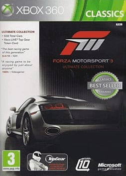 Forza 3 Ultimate Edition Game XBOX360