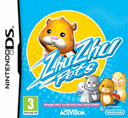 Zhu Zhu Pets DSi and DS Lite Cover Art