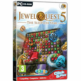 Jewel Quest 5: The Sleepless Star Games Cover Art