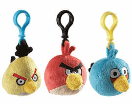 Angry Birds Backpack Clip Toys and Gadgets