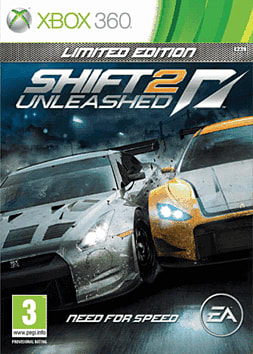 Shift II Unleashed Limited Edition Xbox 360 Cover Art