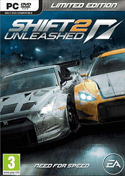 Shift II Unleashed Limited Edition PC Games Cover Art
