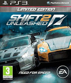 Shift II Unleashed Limited Edition PlayStation 3 Cover Art