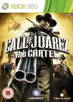 Call of Juarez: The Cartel Xbox 360 Cover Art