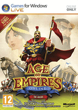 Age of Empires Online PC Games Cover Art