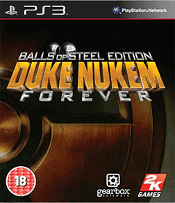 Duke Nukem Forever: Balls of Steel Edition PS3 Cover Art