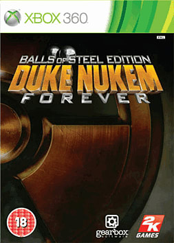 Duke Nukem Forever: Balls of Steel Edition Xbox 360 Cover Art