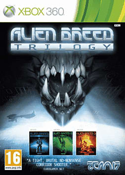 Alien Breed Trilogy Xbox 360 Cover Art
