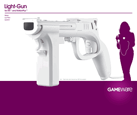 GAMEware Gun for Wii Accessories