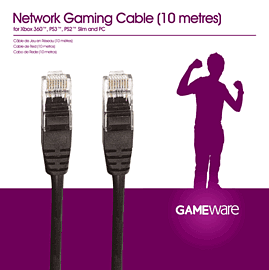 GAMEware Network Gaming Cable (10 metres) Accessories