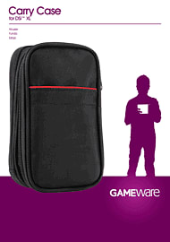 GAMEware Carry Case for DSi XL Accessories