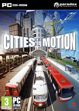 Cities in Motion PC Games Cover Art