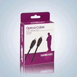 GAMEware Optical Cable for PS2, PS3 and Xbox 360 Accessories 
