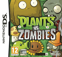 Plants vs Zombies DSi and DS Lite Cover Art