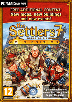 The Settlers 7: Paths to a Kingdom Gold Edition Pc Games Cover Art