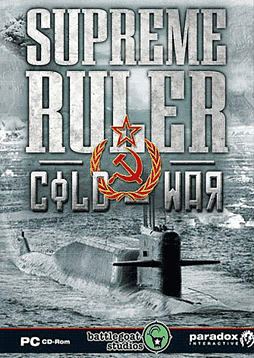 Supreme Ruler Cold War PC Games Cover Art