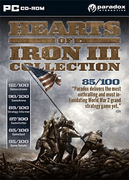 Hearts of Iron 3 - Game of the Year Edition PC Games Cover Art