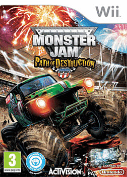 Monster Jam: Path of Destruction Wii Cover Art