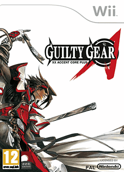 Guilty Gear XX Accent Core Plus Wii Cover Art