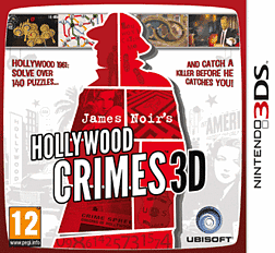 James Noir's Hollywood Crimes 3D 3DS Cover Art