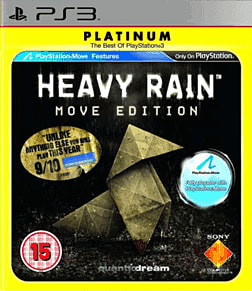 Heavy Rain: Move Edition - Platinum PlayStation 3