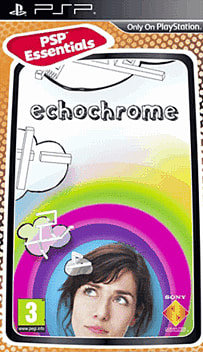 EchoChrome (PSP Essentials) PSP Cover Art