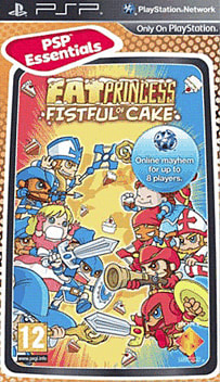 Fat Princess (PSP Essentials) PSP Cover Art
