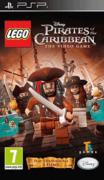 LEGO Pirates of the Caribbean PSP Cover Art