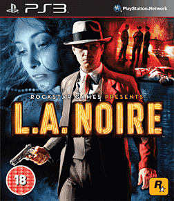 L.A.NOIRE (with 'The Naked City' case) PlayStation 3 Cover Art