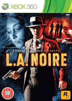 L.A.NOIRE (with 'The Naked City' case) Xbox 360 Cover Art
