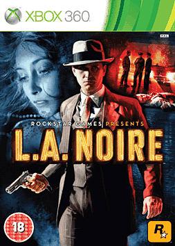 L.A. Noire Xbox 360 Cover Art