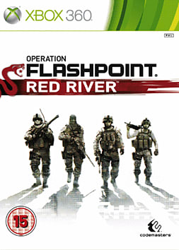 Operation Flashpoint Red River XBOX 360 Cover Art