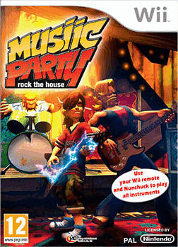 Wii Music Party Wii Cover Art