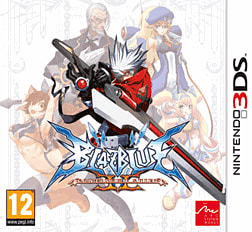 BlazBlue: Continuum Shift II 3DS Cover Art
